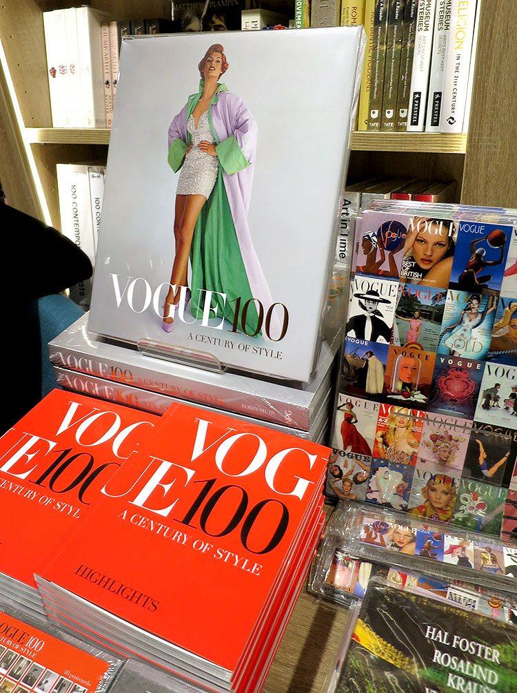 Vogue 100 book