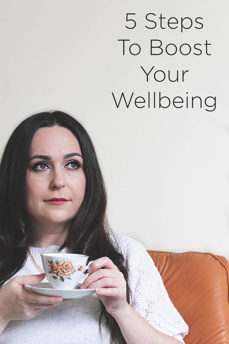 5 Steps To Boost Your Wellbeing