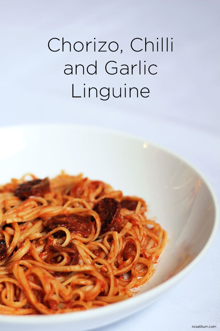 Chorizo Linguine
