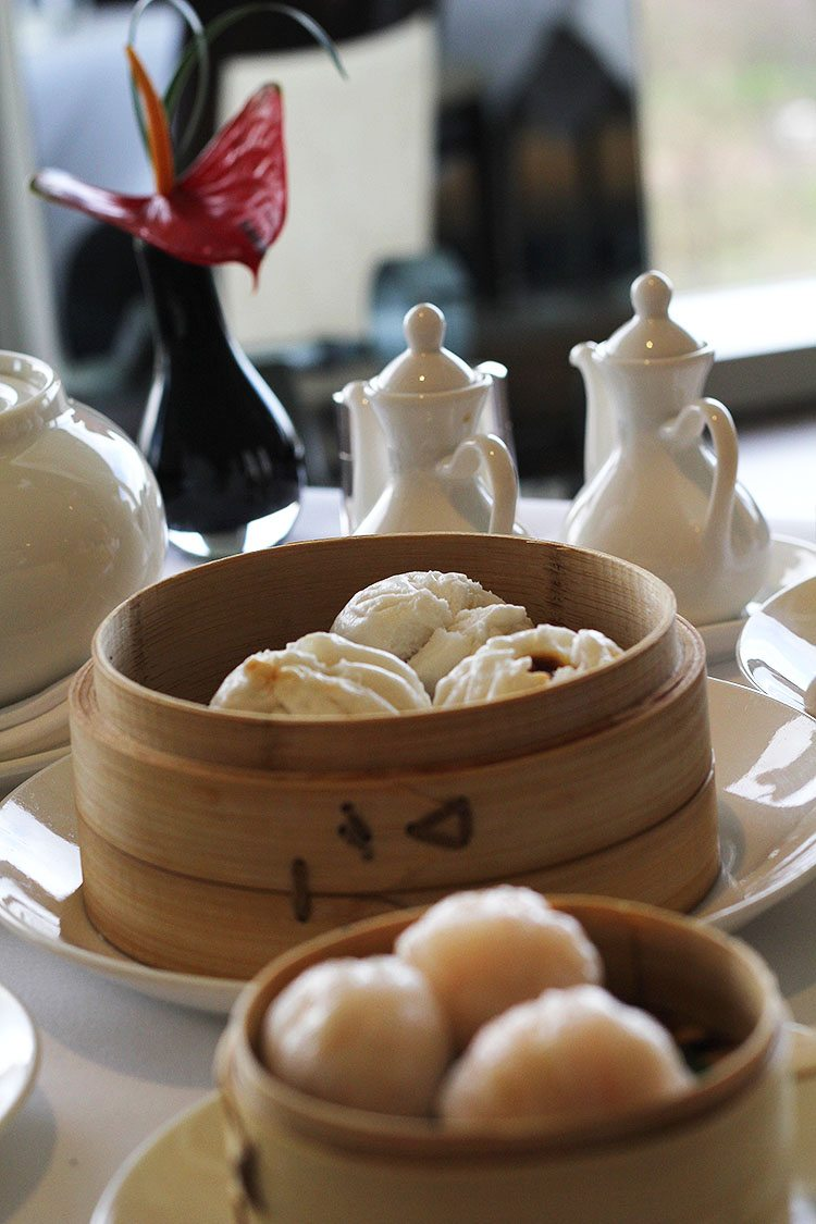 Dumplings at Royal Garden Hotel Min Jiang