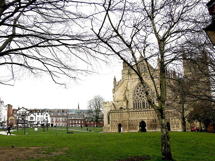 Exeter Cathedral Devon