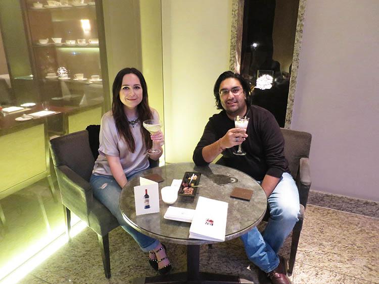 drinks at Royal Garden Hotel