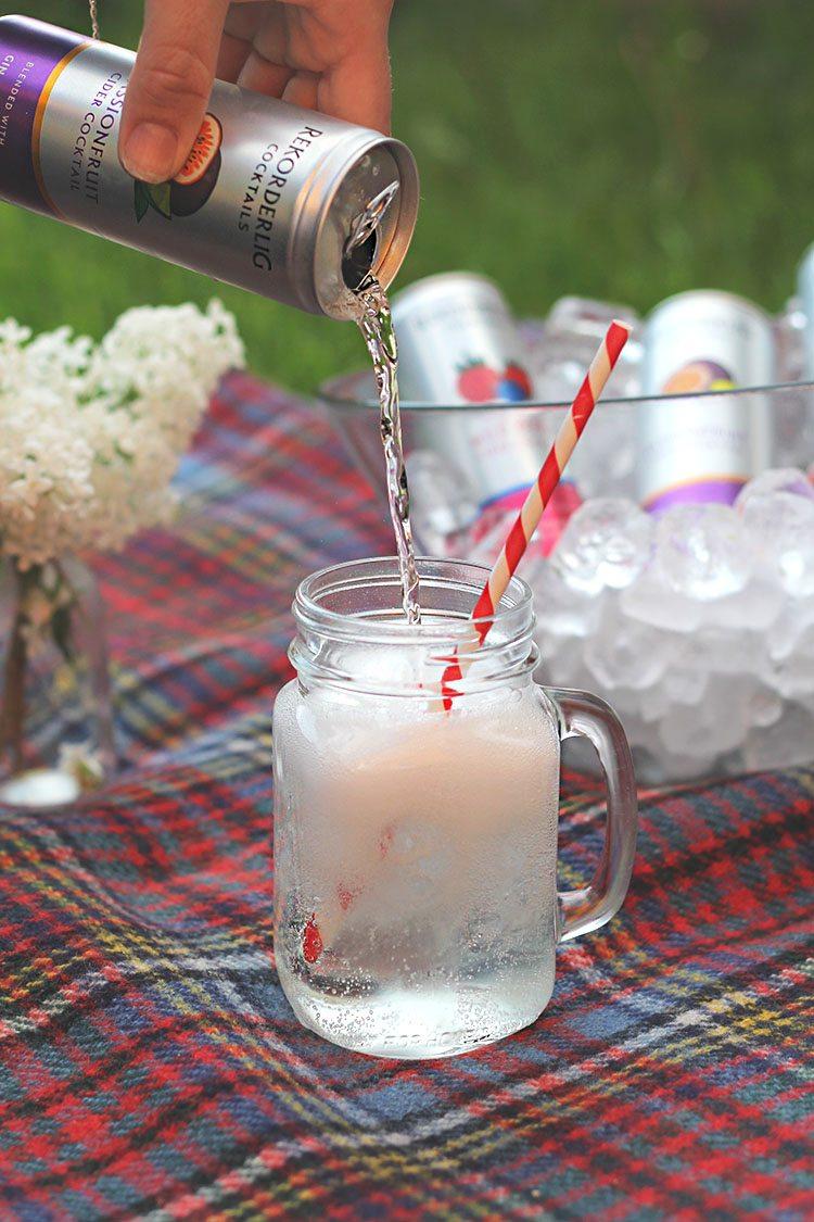 Passionfruit Rekorderlig Cocktail