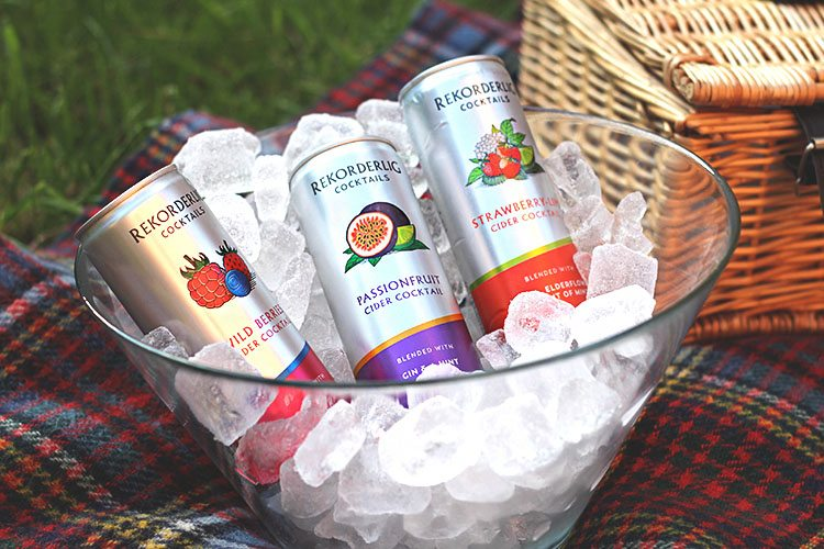 Rekorderlig Cider Cocktails on Ice