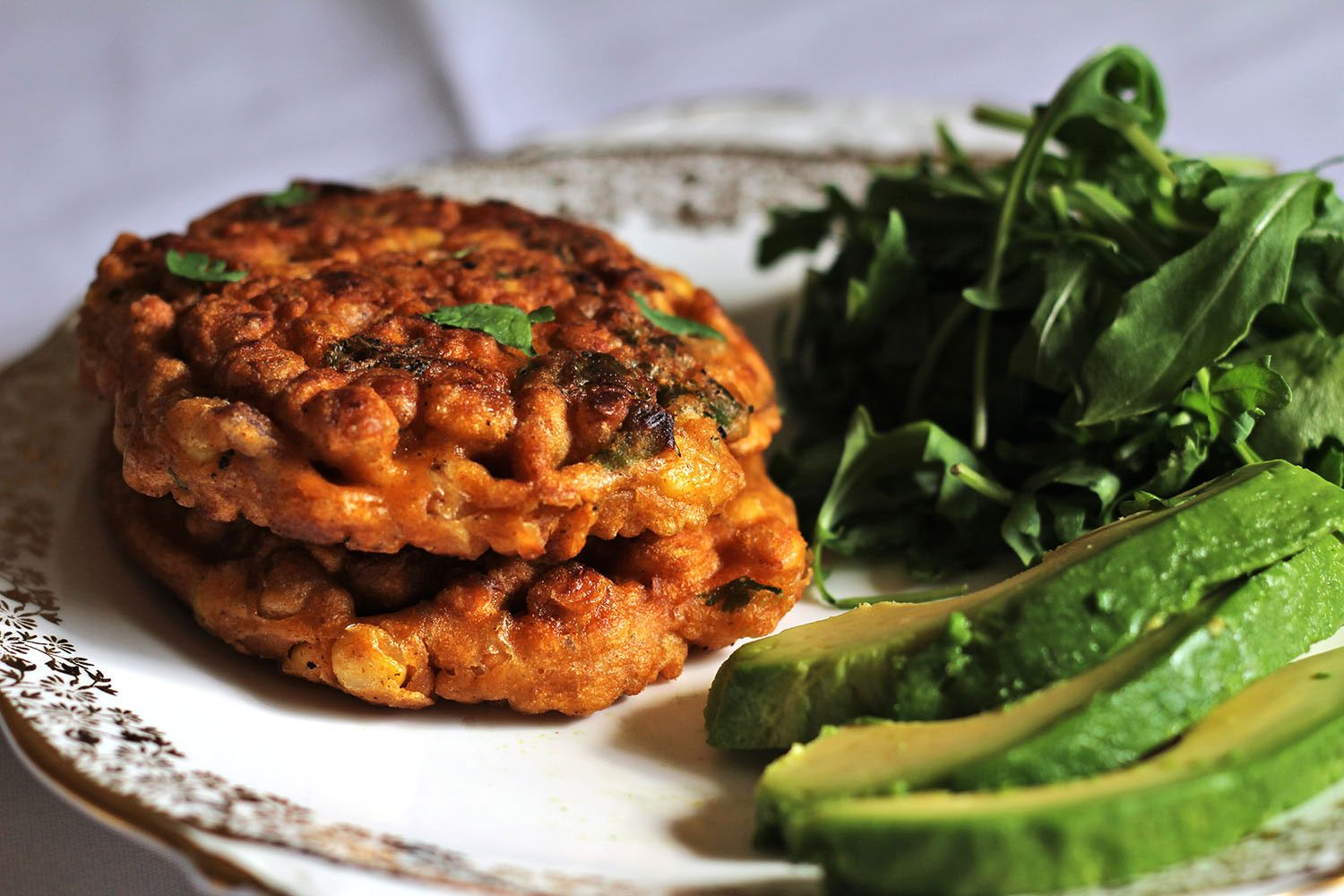 Sweetcorn-Fritters-for-brunch