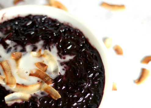 Thai Coconut Black Rice Pudding