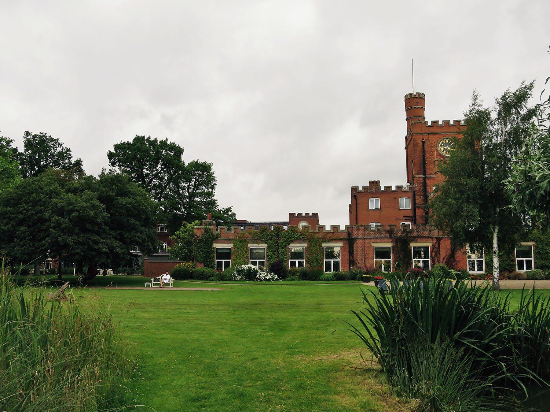 gardens at Ragdale Hall