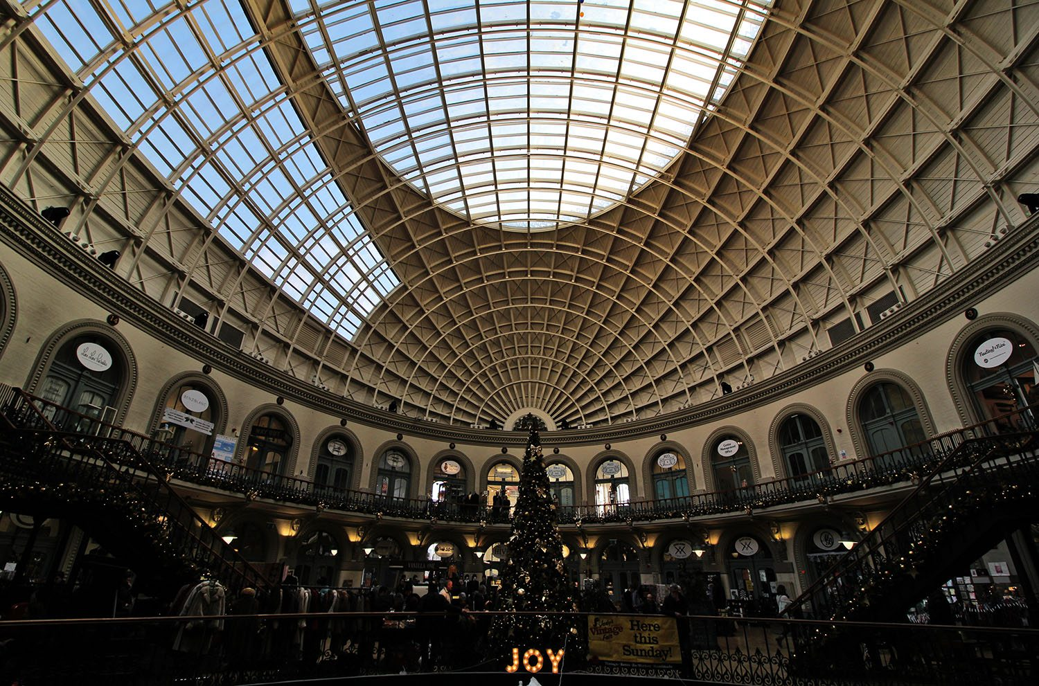 Inside The Corn Exchange