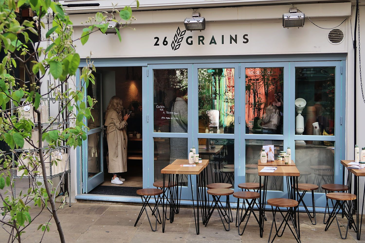 26 Grains London Cafe