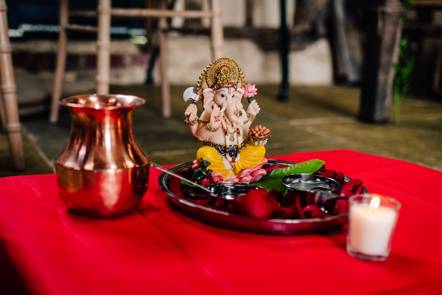 Ganesh Shrine