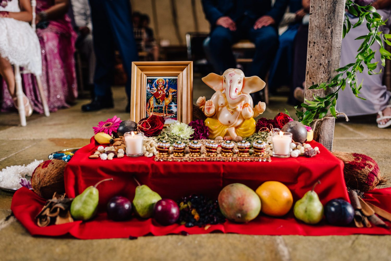Hindu Wedding Shrine