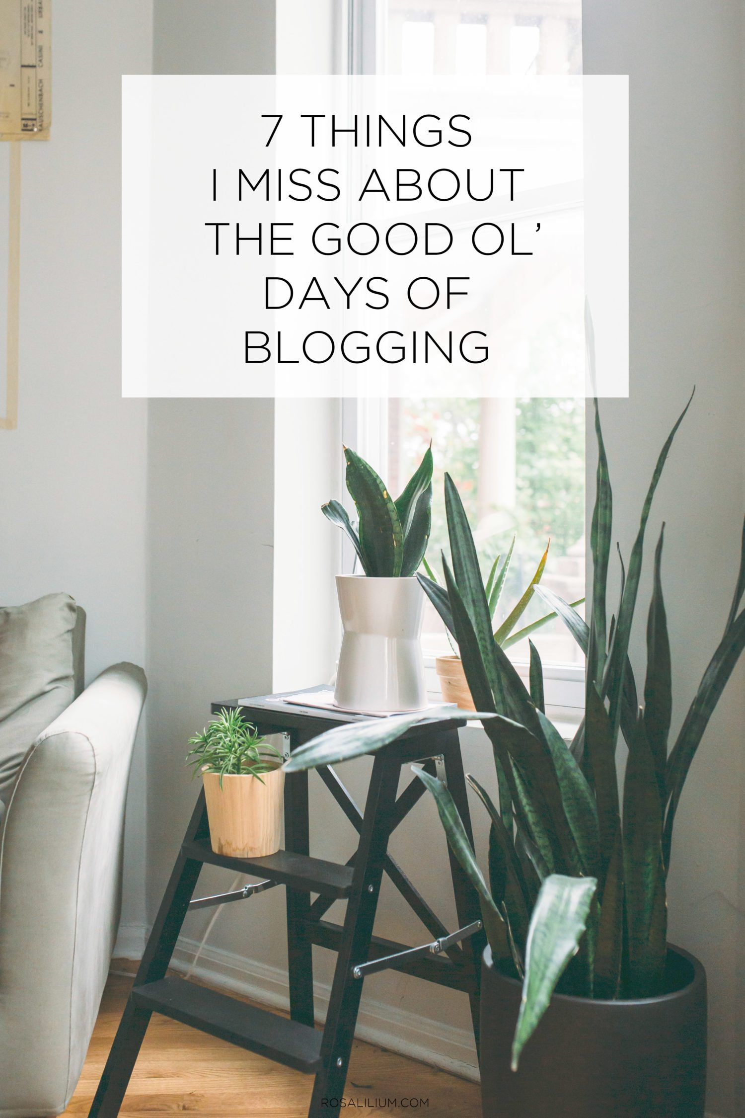 7 Things I Miss About The Good Old Days Of Blogging