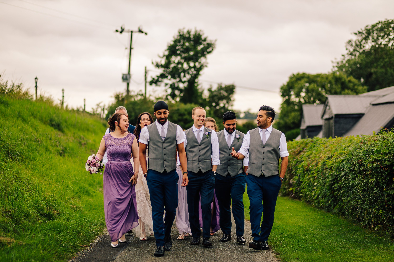 British Barn Countryside Rustic Wedding