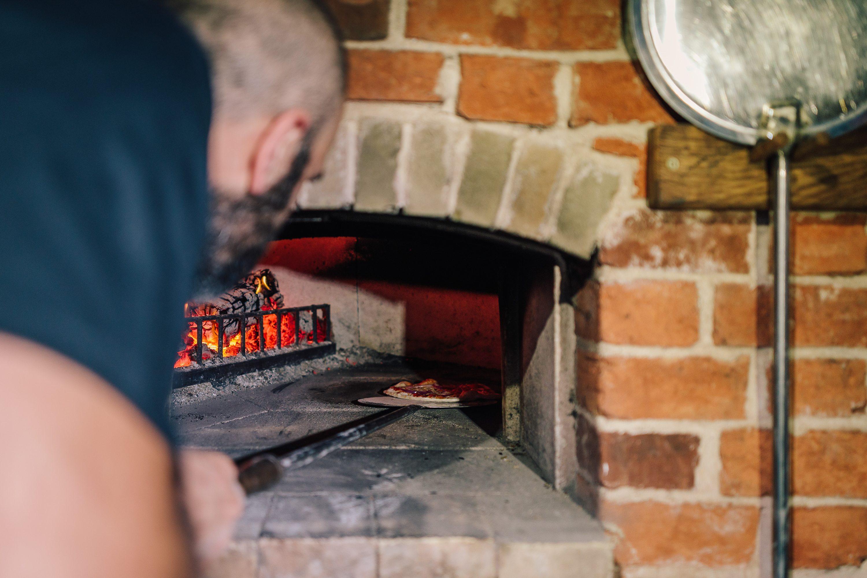Pizza Oven Terrace Alpheton Hall Barns