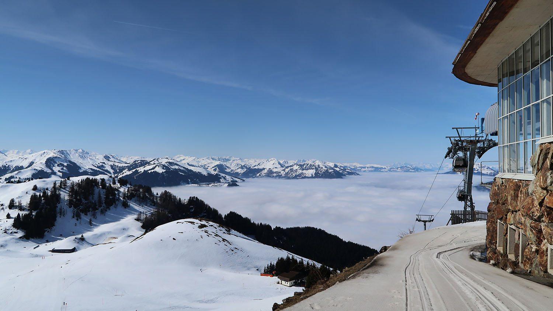 Above the clouds Austria