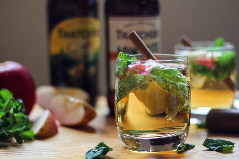 Cider Mojito Cocktail