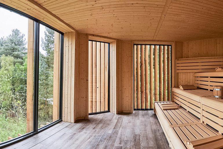 Aqua Sana Spa Treetop Sauna