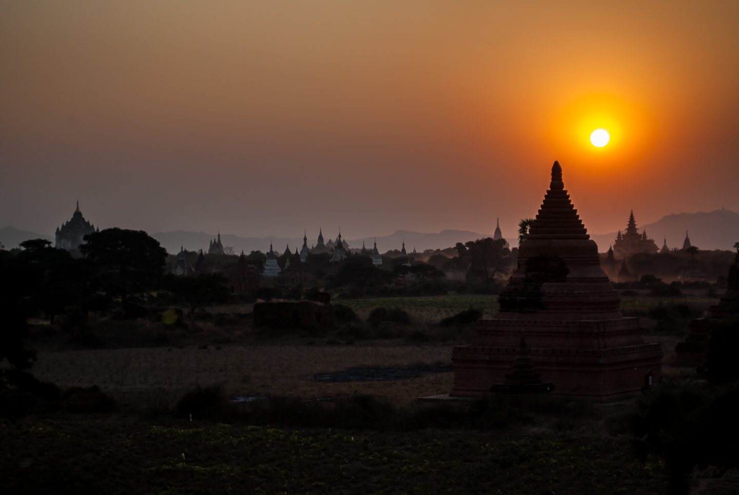 Bagan Sunset Elizabeth Dhokia-1