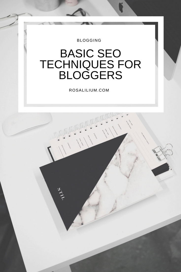 Basic SEO techniques for bloggers