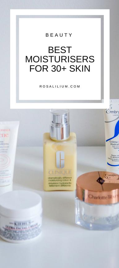 Best moisturisers for 30s skin