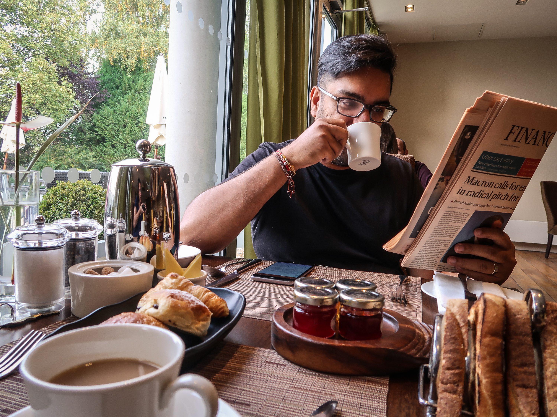 Bishopstrow Hotel Breakfast