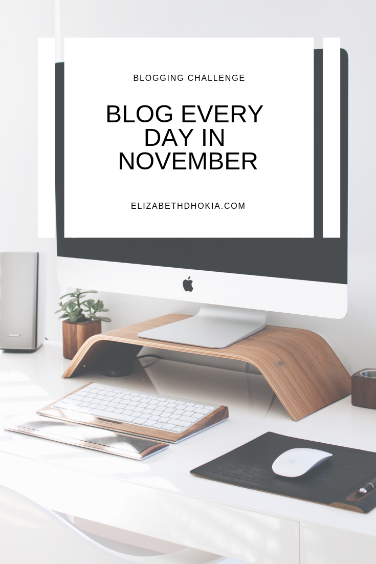 Blog Every Day in November 2018