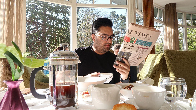 Breakfast at Galgorm Resort and Spa