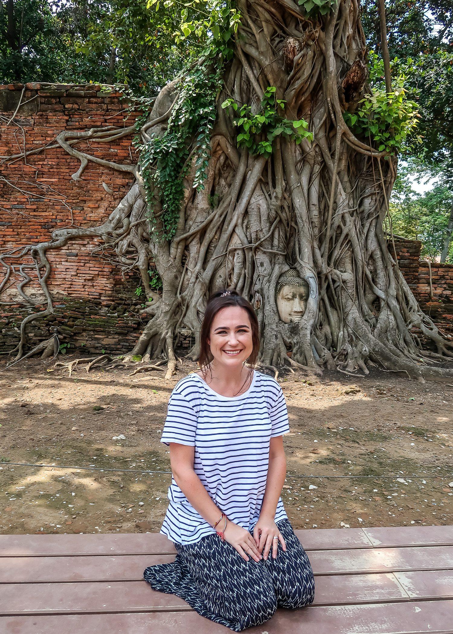 Buddha Head Wat Maha That Thailand