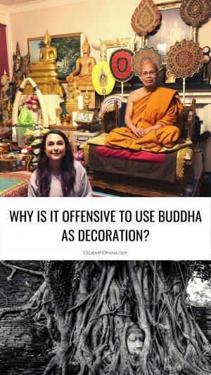 Buddha as decoration