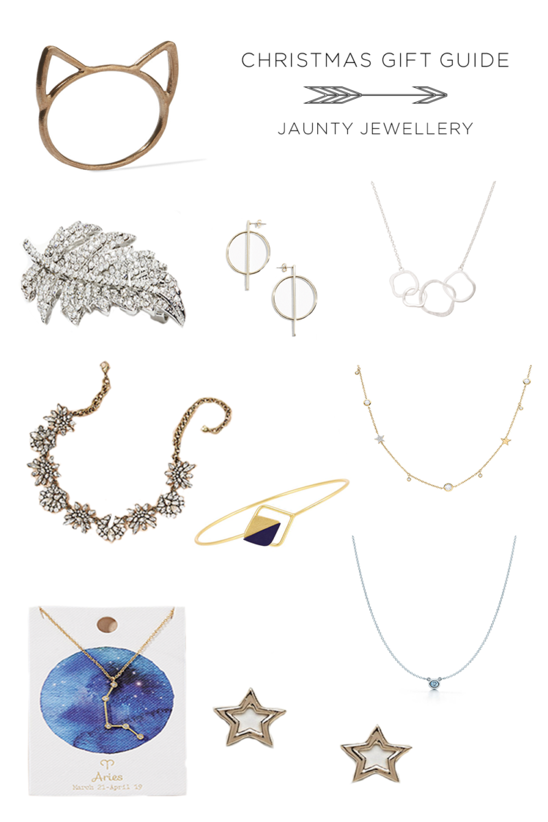 CHRISTMAS GUIDE JAUNTY JEWELLERY