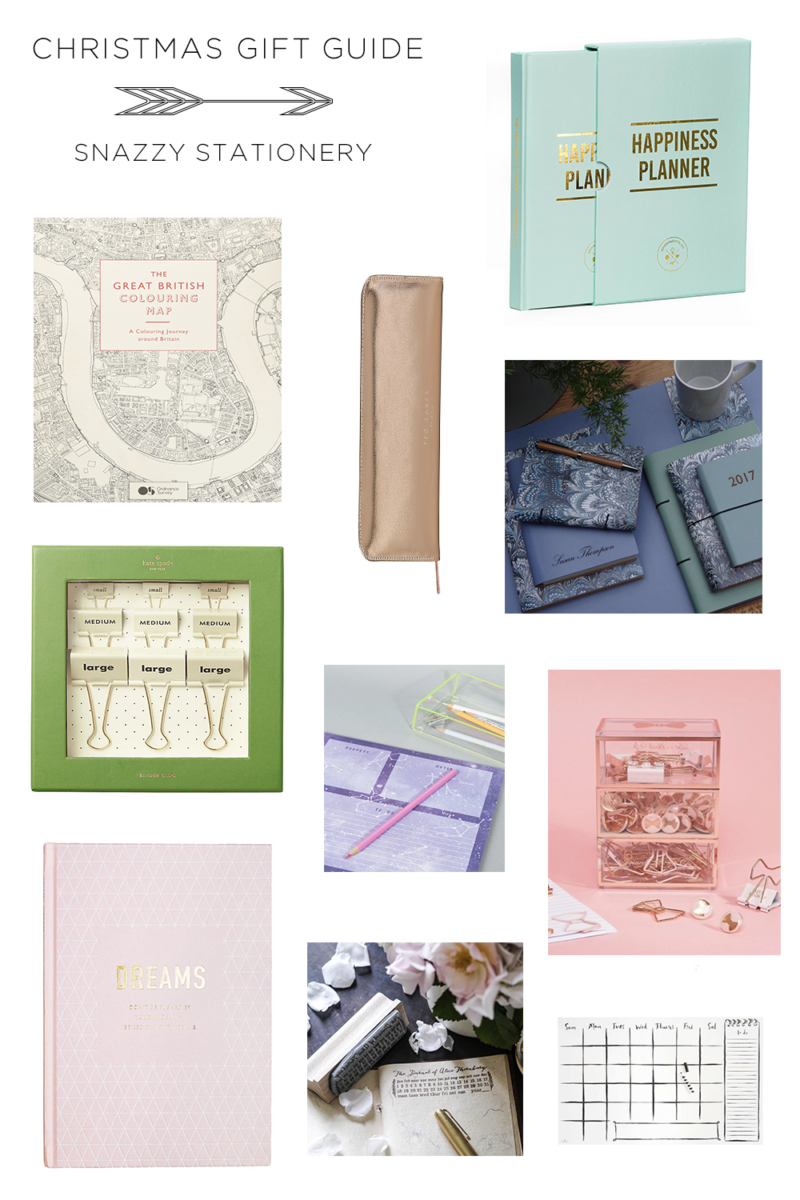 CHRISTMAS GUIDE STATIONERY
