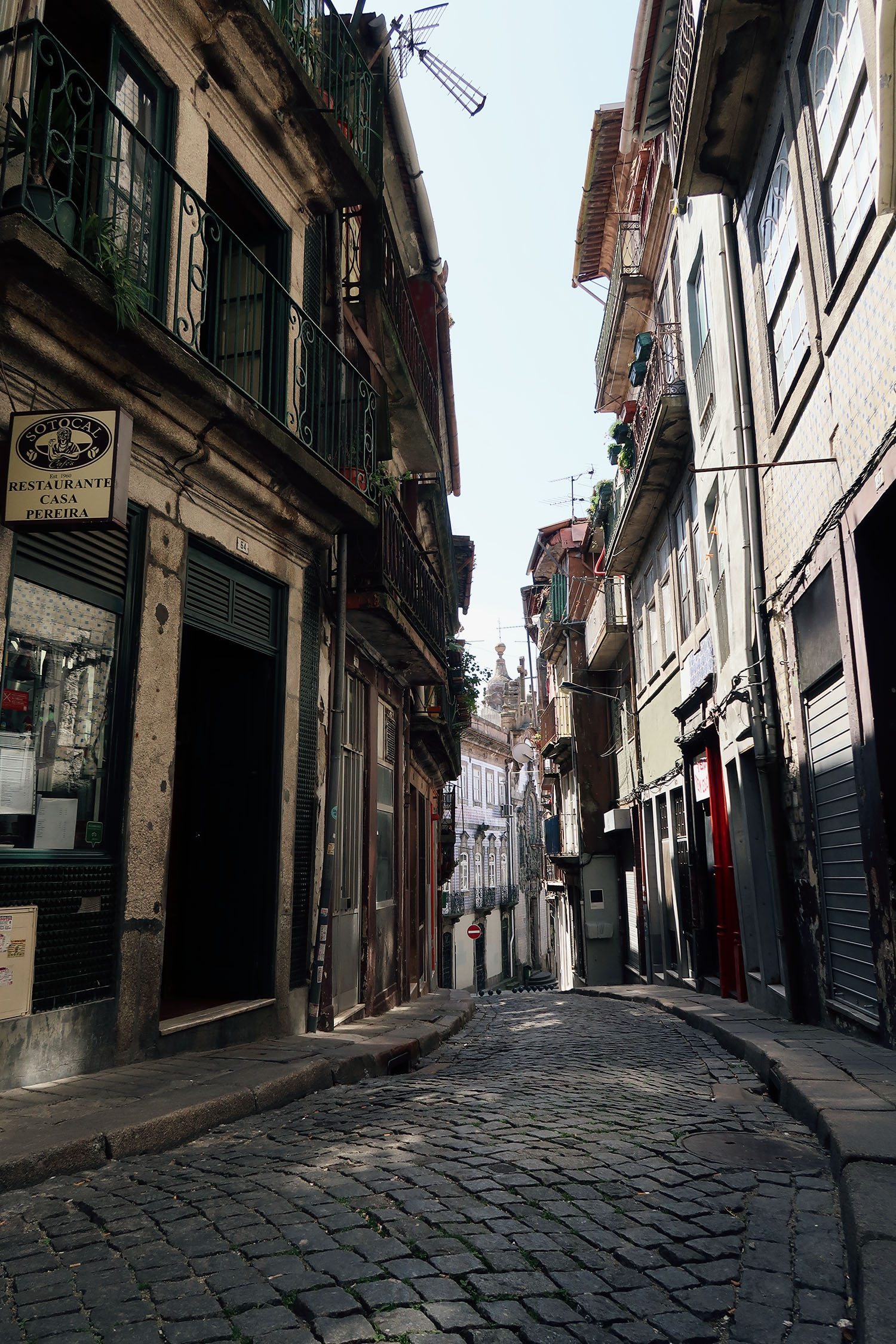 Cobbled Streets of Porto