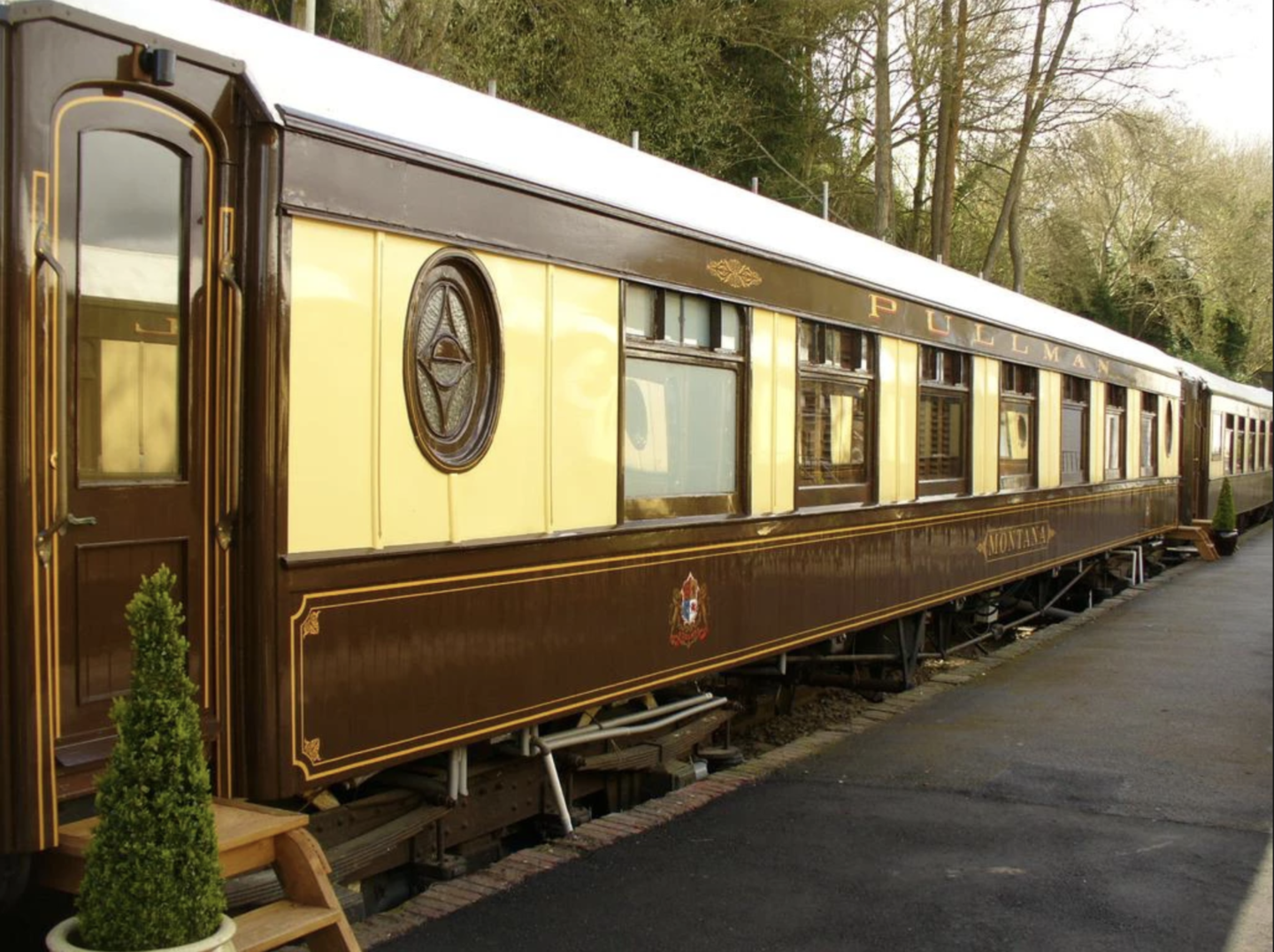 Converted Pullman Carriages