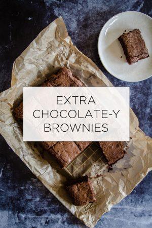Extra Chocolatey Brownies Recipe