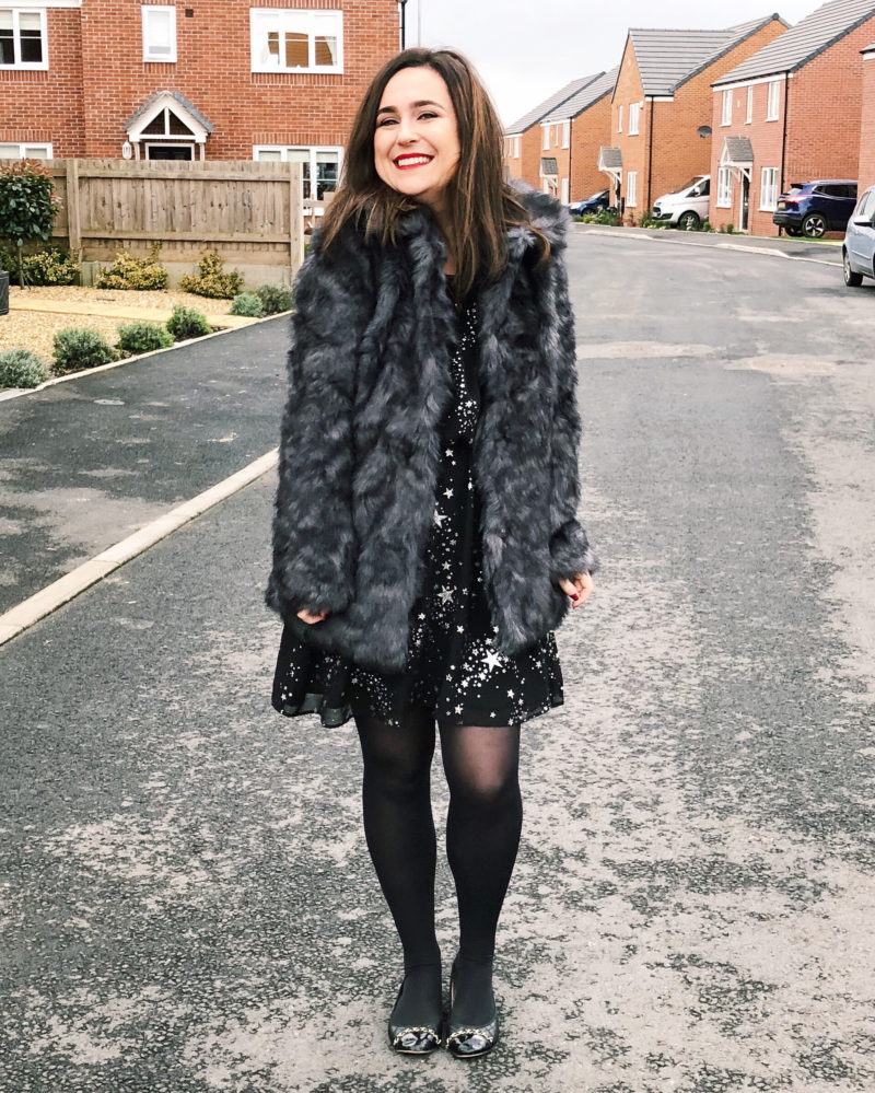 Faux Fur Jacket Coat