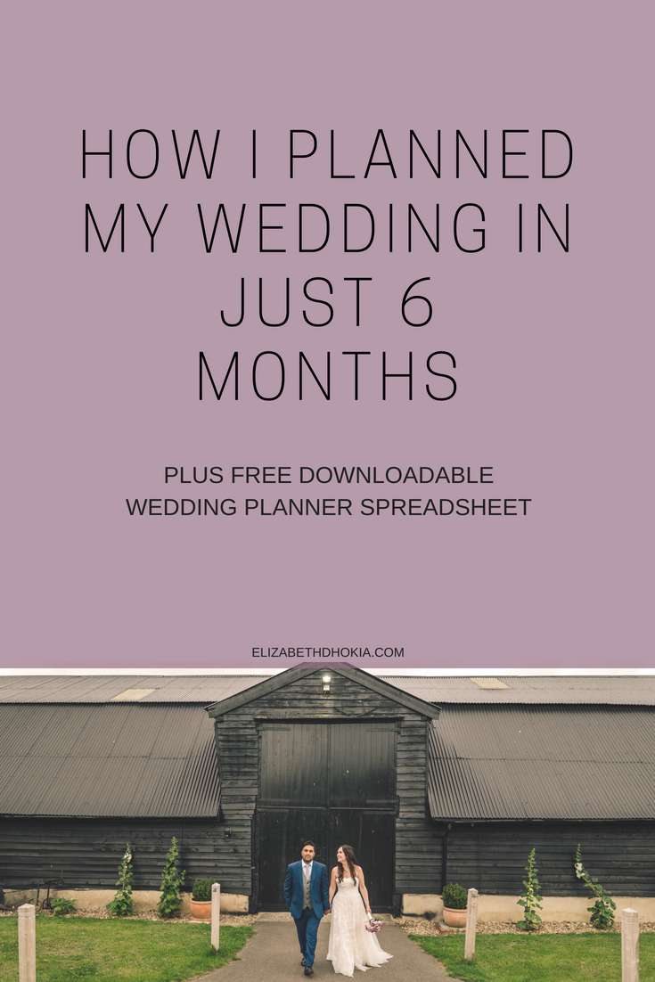 Free download wedding planner spreadsheet