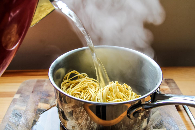 Making Gousto Recipe