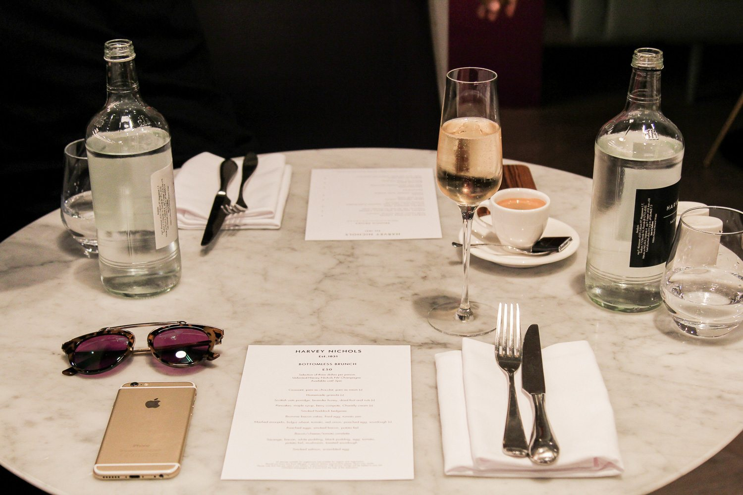 Harvey Nichols Brunch