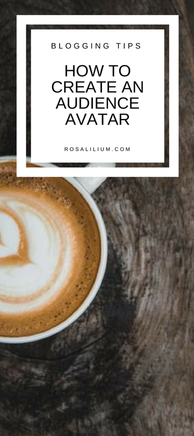 How to create an audience avatar aka reader profile