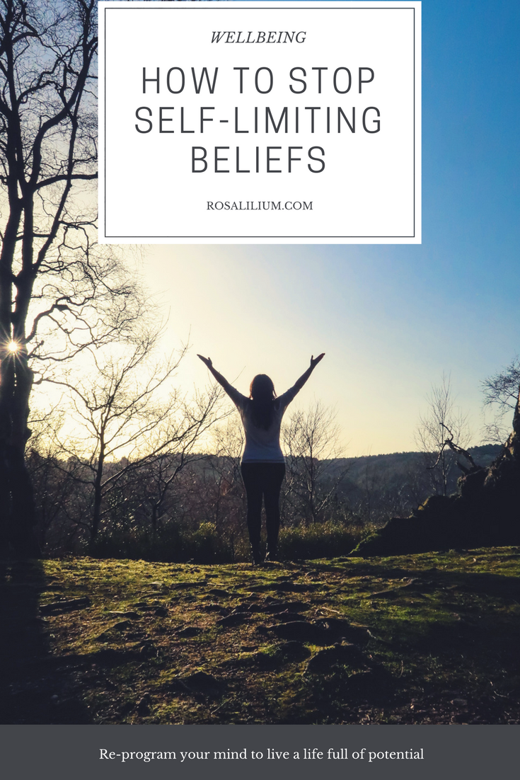 How to stop self limiting beliefs