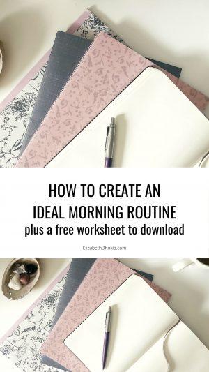 Ideal Morning Routine Worksheet