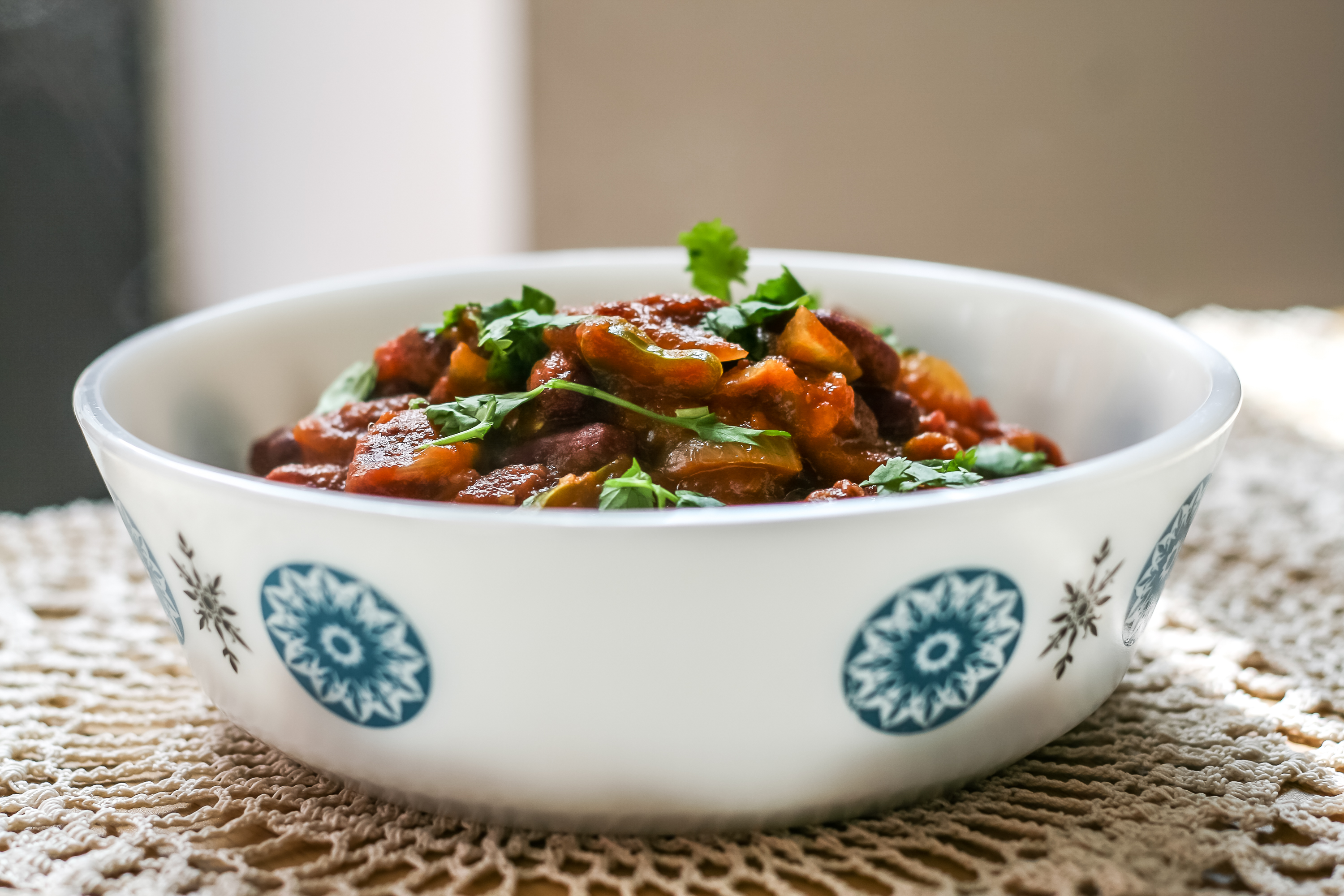 Indian Kidney Bean Curry Recipe-2