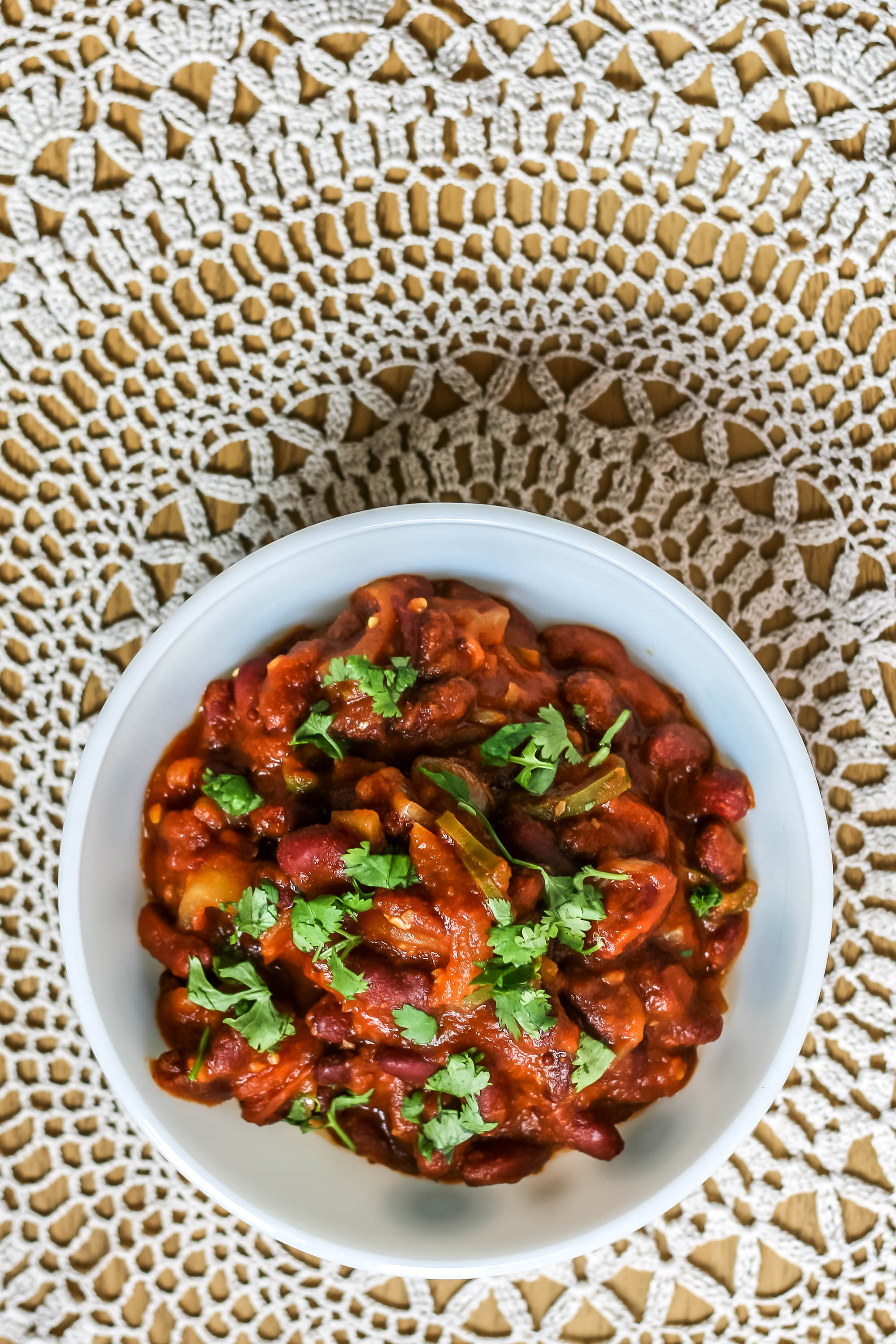 Indian Kidney Bean Curry Recipe-3