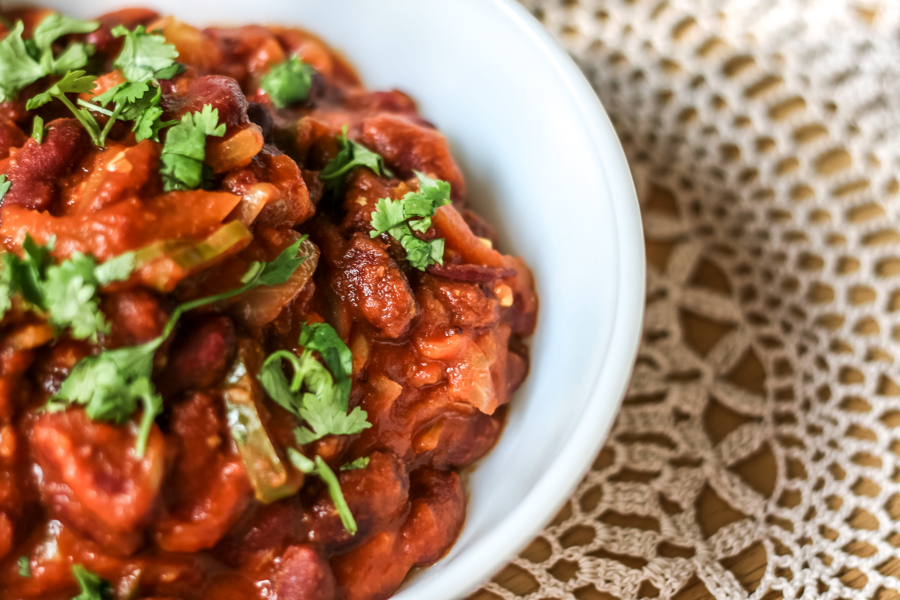 Indian Kidney Bean Curry Recipe-4