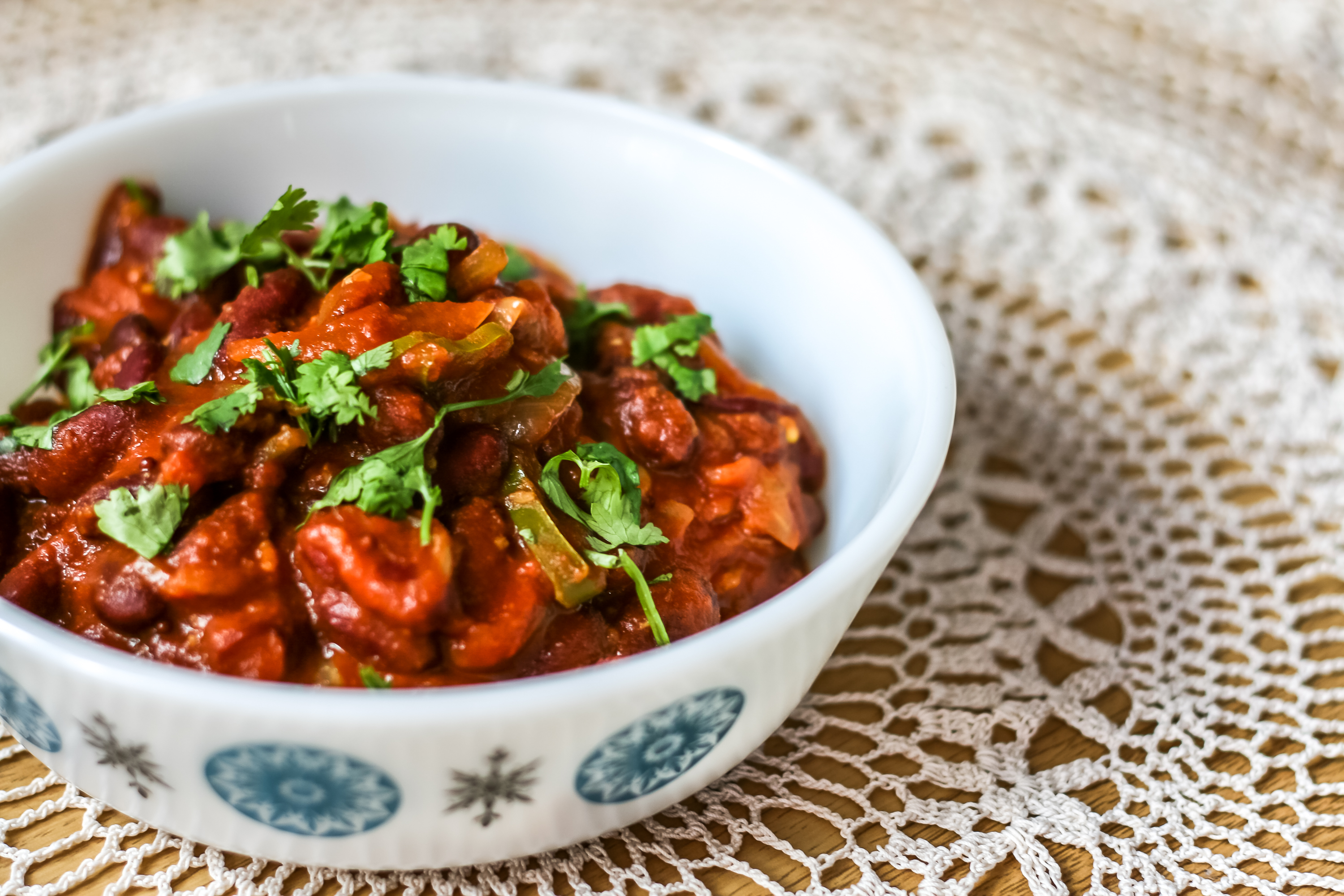 Indian Kidney Bean Curry Recipe-5