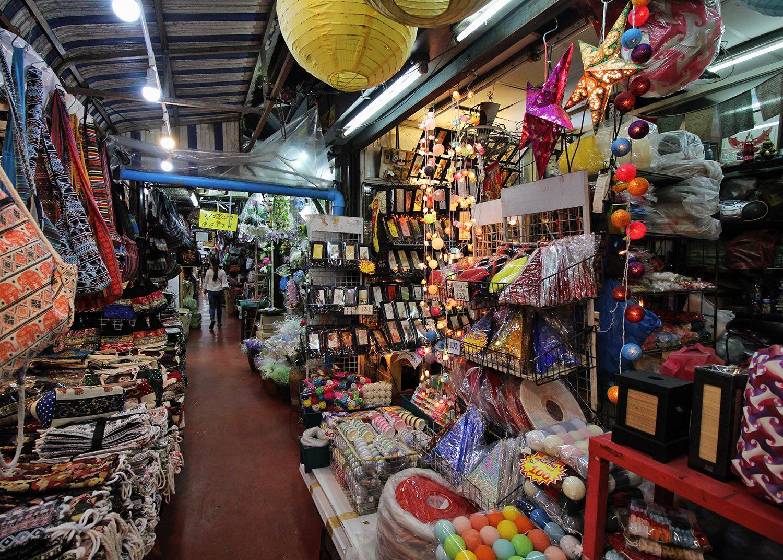 Inside Chatuchak Market