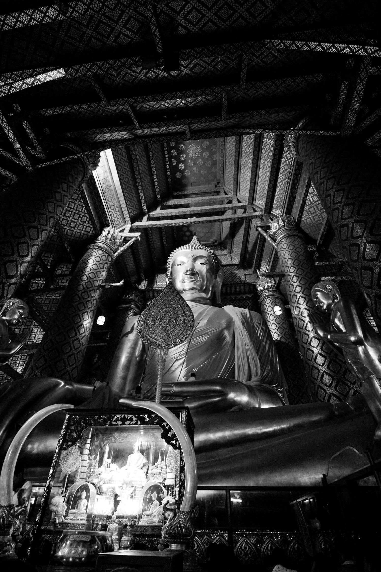 Large Sitting Buddha Ayutthaya