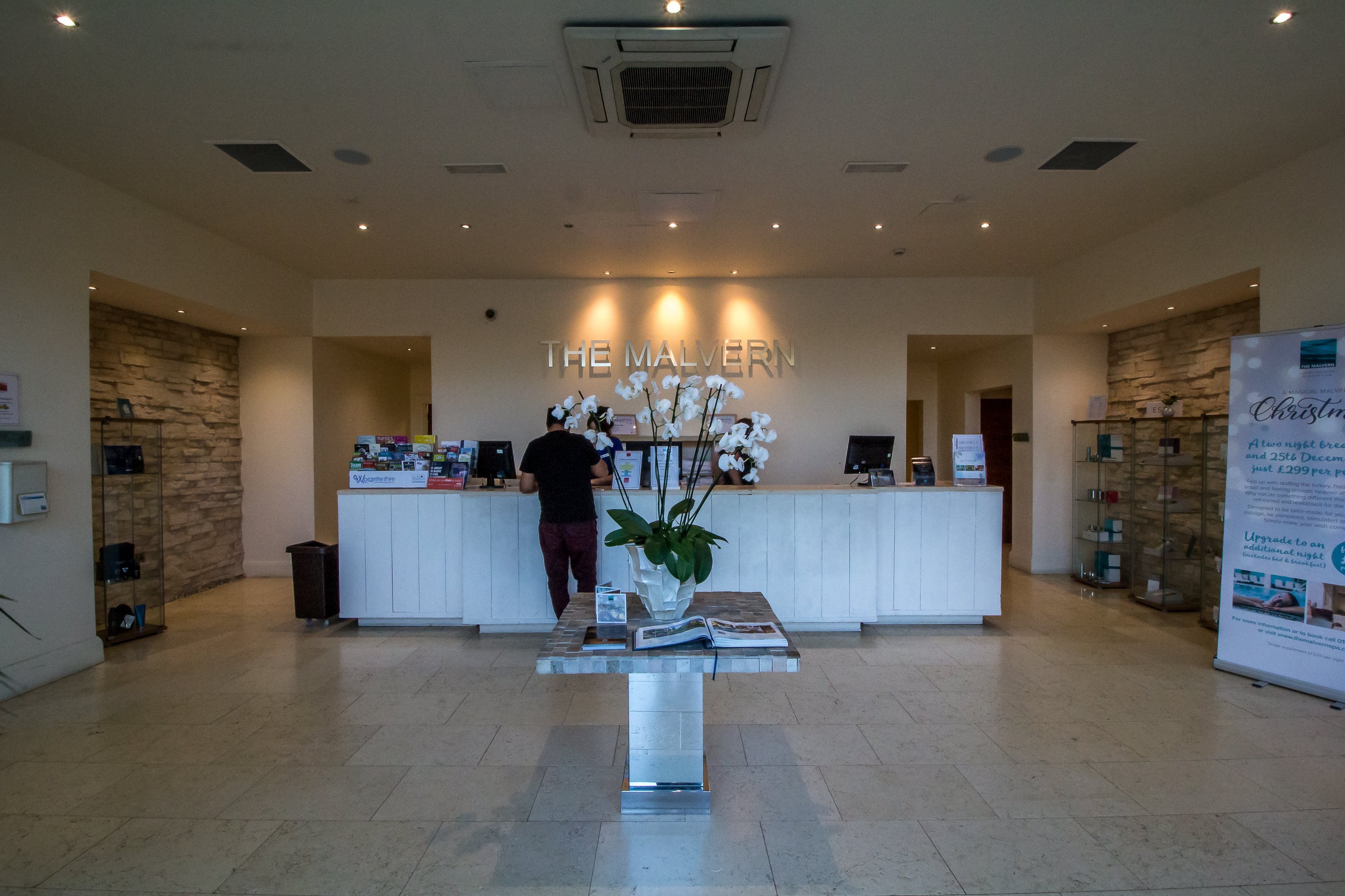 Malvern Spa Reception