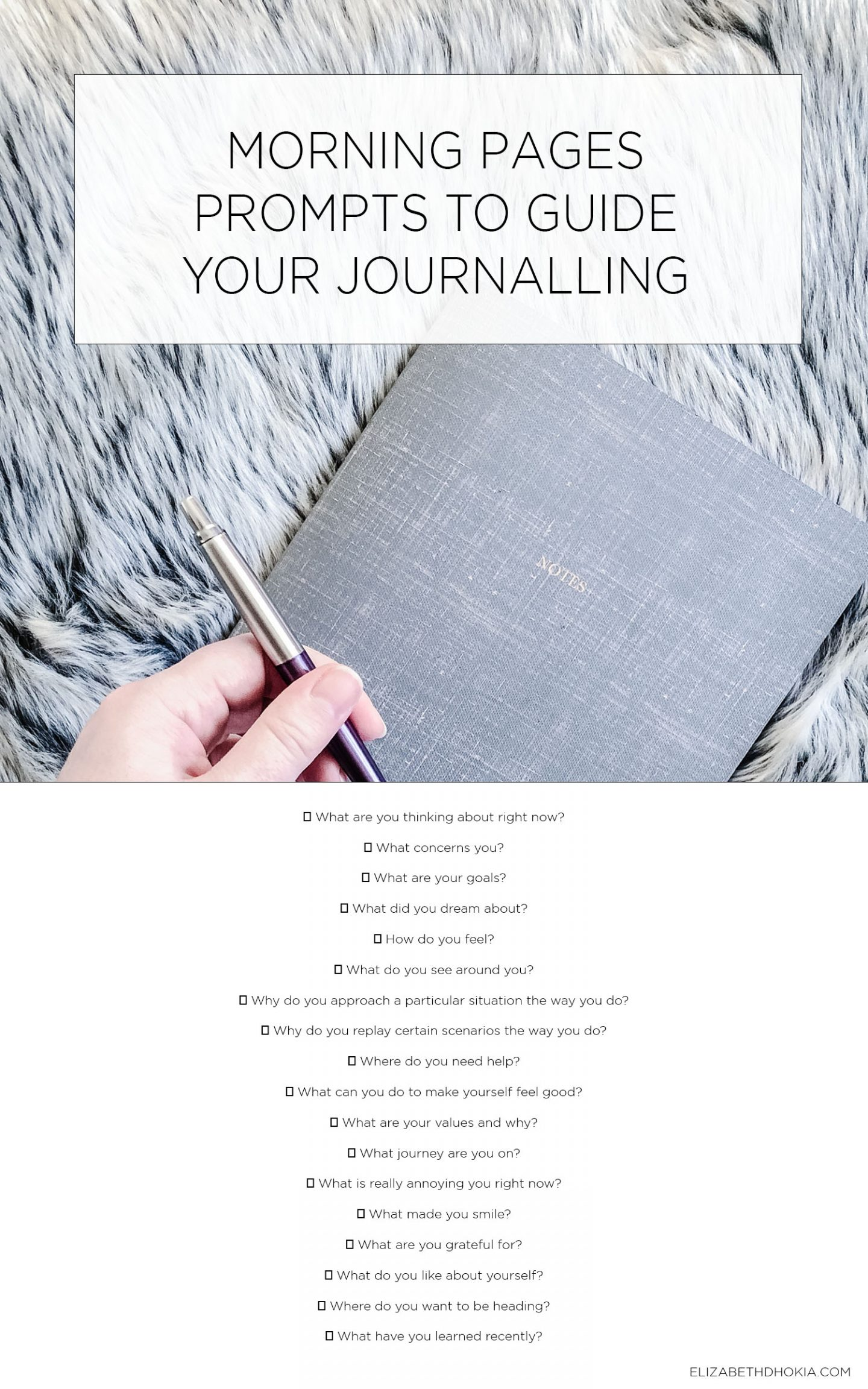 Morning Pages Prompts And Journal Guidance