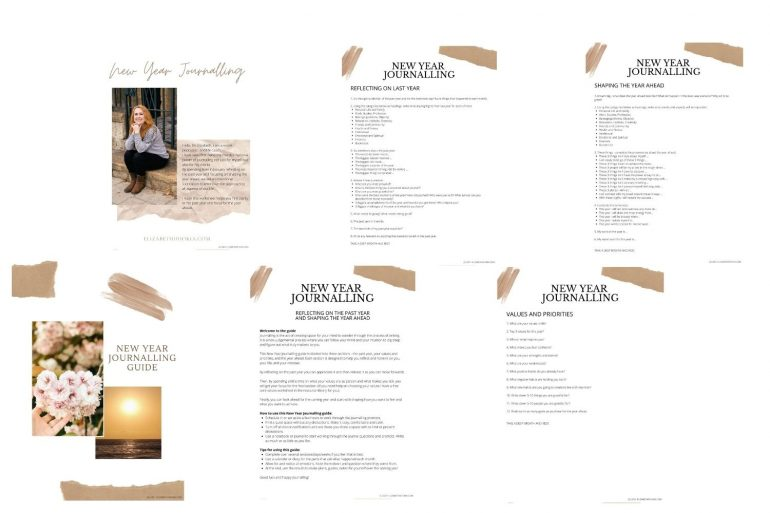 New Year Journalling Guide Download